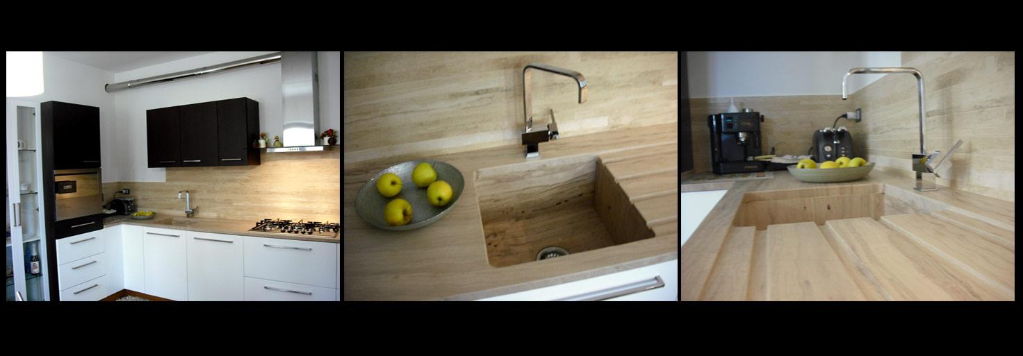 Petres maestri artigiani nella lavorazione del marmo e - Top cucina in pietra ...